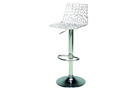 tabouret de bar design transparent sparte tabouret de bar pas cher