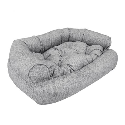 snoozer overstuffed sofa pet bed replacement cover