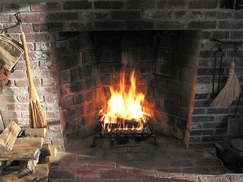 Fire Place : Rumford Fireplace