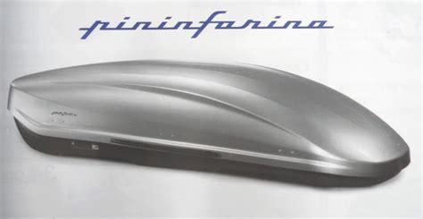 la gazette automobile le coffre de toit pininfarina norauto