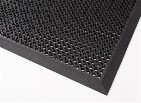 high drainage industrial rubber mat images frompo