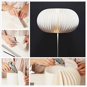 How to Make Beautiful Lamp from Paper Plates