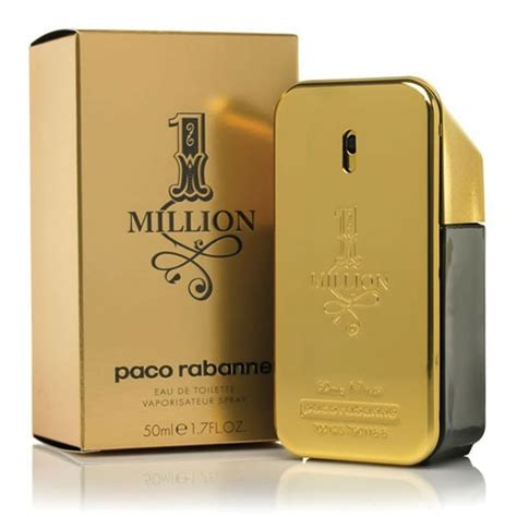 buy paco rabanne 1 million eau de toilette spray 50ml