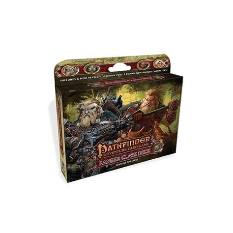 paizo publishing pathfinder ranger class deck