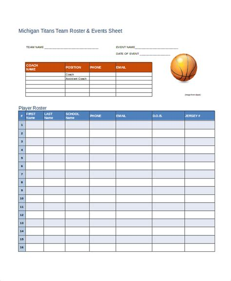 employee roster template retail roster template 8 free word excel pdf document