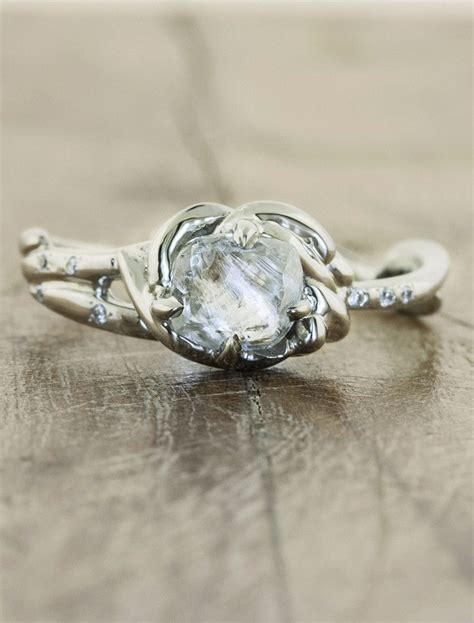 Rough Cut On Pinterest  Rough Diamond Rings, Raw Diamond. 2.5 Engagement Rings. Diana Rings. $10000 Wedding Rings. Goddess Rings. Jacque Engagement Rings. Colorless Engagement Rings. Baby Girl Rings. Halloween Rings