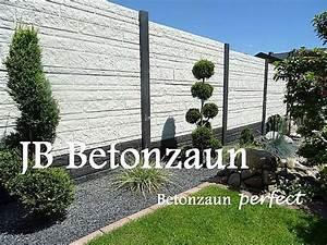 Betonpfosten Für Zaun : betonzaun sichtschutzzaun sichtschutz betonz une zaun z une gargenzaun gabionen 1 ~ Markanthonyermac.com Haus und Dekorationen