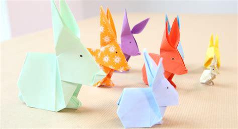 un lapin en origami prima