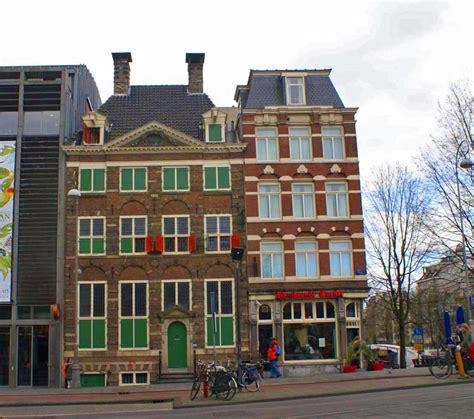 Museum Amsterdam Rembrandt by Rembrandt House Museum Isolated Traveller