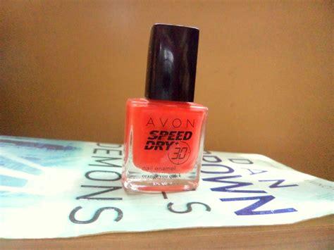 Avon Speed Dry+ Nail Enamel Orange You Quick