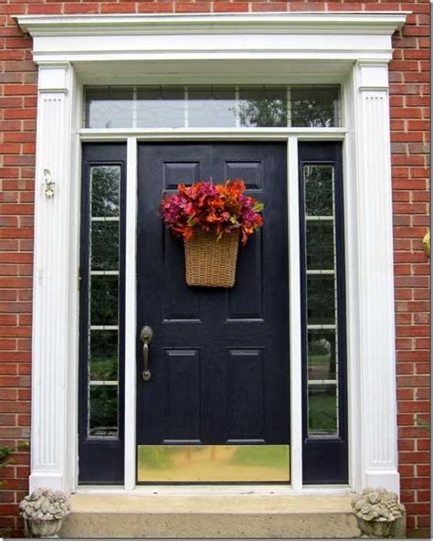 how to easily decorate your front door for fall in my own style