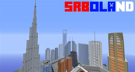 modern city srboland minecraft gt maps gt other misc gamebanana