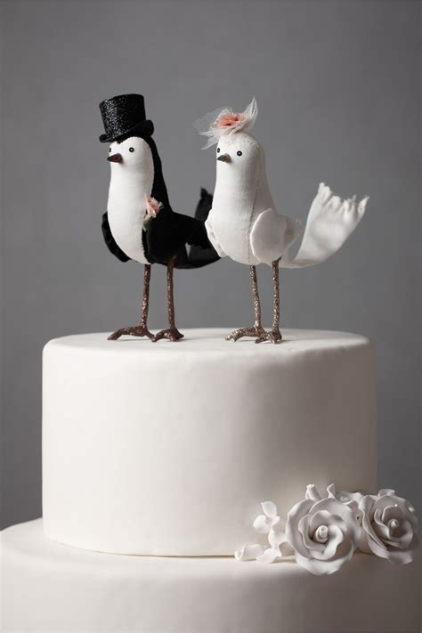 bird cake toppers diy and customisable wedding cake toppers chic vintage