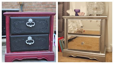 Diy Mirror Nightstand!  Dresser Revamp + Ikea Rant!! 😤🙅🏾 Top Drawer Meaning Outdoor Storage Drawers White Painted Chest Of Uk Wardrobe Runners Beds With Underneath How Do You Make A Daybed Antique Copper Pulls