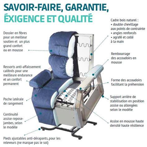 fauteuil releveur electrique confort plus massant et chauffant fauteuil releveur massant et