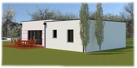 maison contemporaine avec toit plat au clouzeaux pr 232 s de la roche sur yon 85 r 233 f2090 o