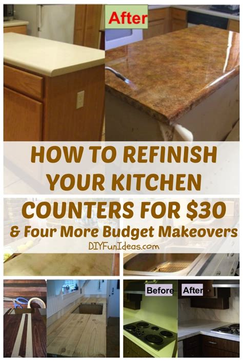 How To Refinish Your Kitchen Counter Tops For Only $30