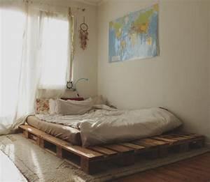 Matratze Auf Paletten : 12 kreative ideen f r diy bett diy schlafzimmer zenideen ~ Markanthonyermac.com Haus und Dekorationen