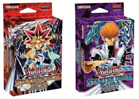 yugi starter and kaiba starter deck reloaded