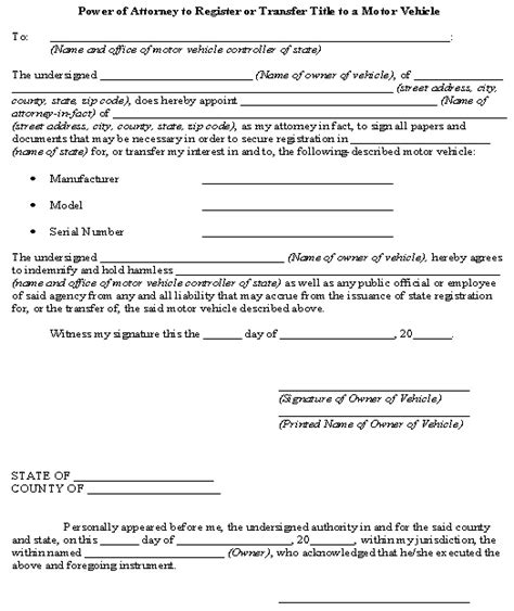 Texas Boat Registration Without Title by 12 Best Power Of Attorney Images On Pinterest Power Of