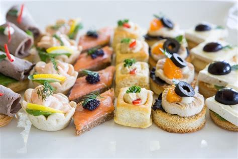 finger foods and canapes events by keisha