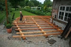 Terrasse Holz Unterbau Die Terrasse Unterbau Erstellen Homepage