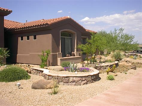 The Front Yard : Backyard Landscaping Az
