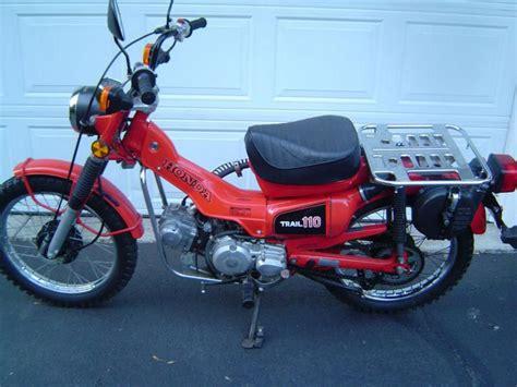 Honda Ct110 Trail 110 1981 Usa