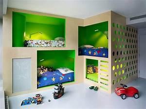Kinderzimmer Einrichten Ideen : jungen kinderzimmer wandgestaltung ~ Markanthonyermac.com Haus und Dekorationen
