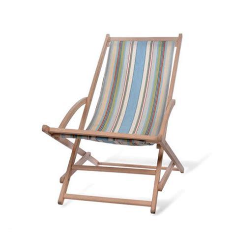 Garden Trading Rocking Deck Chair  Suffolk Stripe Black