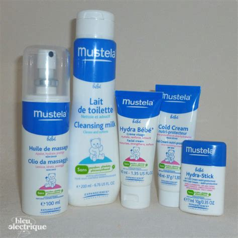 les produits de soin de b 233 b 233 mustela bleu electrique