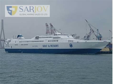 Catamaran Ship Sale by Passenger And Car High Speed Roros For Sale