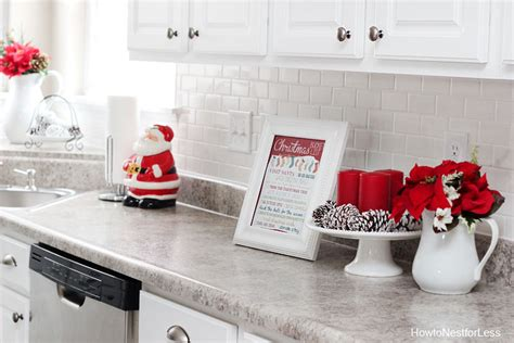 Christmas Kitchen Décor  How To Nest For Less™