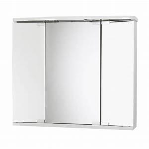 Spiegelschrank Weiß Holz : jokey funa led farbe wei spiegelschrank mdf holz ma e b h t 68 ~ Markanthonyermac.com Haus und Dekorationen