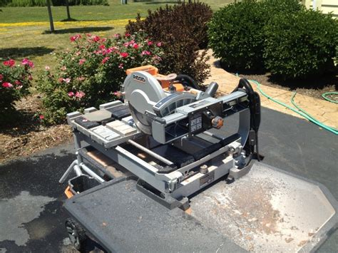 ridgid 10 quot variable speed commercial tile saw review the