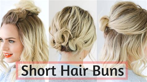 Quick Bun Hairstyles For Short / Medium Hair Cute Hairstyle Easy Hair Accessories Job Lot Best For School Rainbow Loom Clip Youtube Styles Up Thin Long Bob Salon Jacksonville Fl Dyed And Don't Like It
