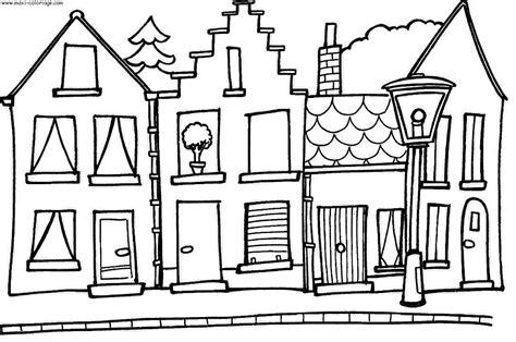 dessins de maison