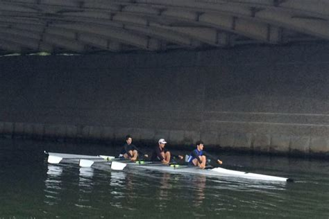 Triple Sculling Boat by The Tufts Triple Row2k Rowing Photo Of The Day