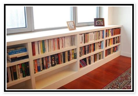 Great Under Window Bookshelf For Your Home Design 2018