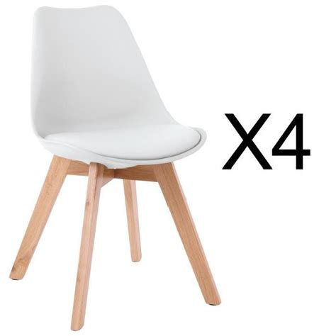 chaise scandinave avec coussin achat vente chaise scandinave avec coussin pas cher cdiscount
