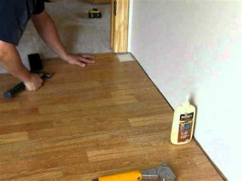 installing laminate flooring troubleshooting