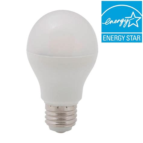 lighting science 40w equivalent soft white a19 led light bulb 4 pack ls a19 40we w27 120 fs1