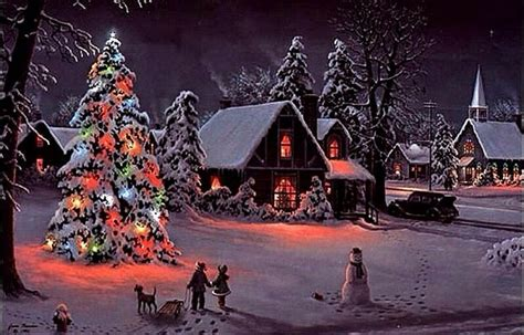 395 Best Christmas Scenes Images On Pinterest