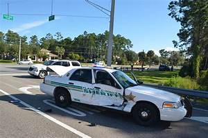 Sheriff's Cruiser in T-Bone Wreck That Injures 1 on Palm ...
