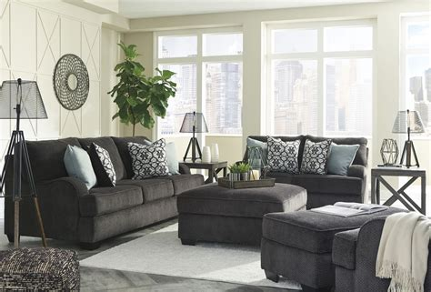 Charenton Charcoal Living Room Set From Ashley Quality Oak Living Room Furniture Modern Kitchen Design How To Decorate A In Indian Style Leather Photos Pictures Of Cabinets Energizing Colors Hotel Tips Rustic Canisters