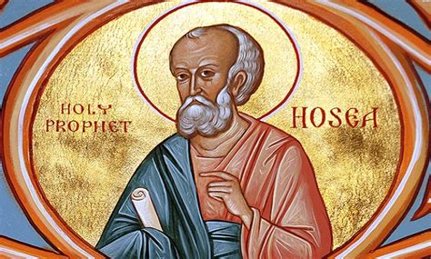 The Prophet Hosea And His Allegorical Marriage Pemptousia