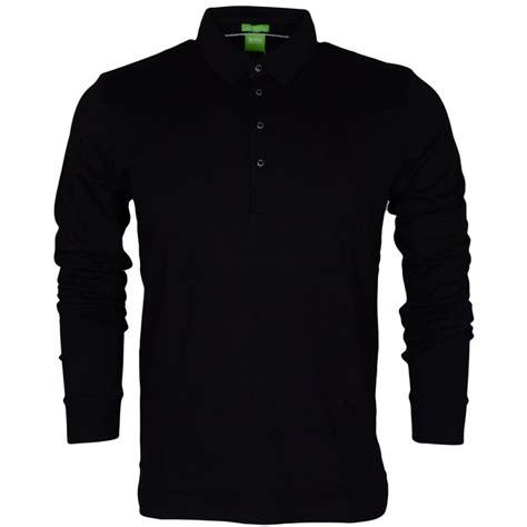 hugo black paderna 30 sleeve modern fit black polo hugo black from n22 menswear uk
