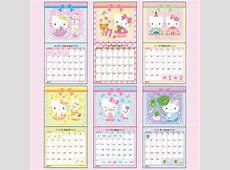 Hello Kitty 2018 Printable Calendar – 2018 Calendar Template