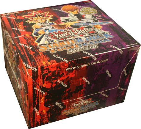 yu gi oh yugi kaiba reloaded starter deck box 248 potomac distribution