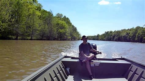 Extra Wide Flat Bottom Boat by 20140420 New Lowe 20 Ft Jon Boat Motor Breakin Pt 1 Mp4